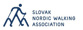 Slovenská asociácia Nordic Walking Logo